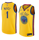 Maglia Golden State Warriors Javale McGee Nike City Edition Replica