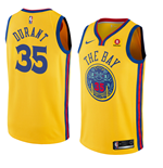 Maglia Golden State Warriors Kevin Durant Nike City Edition Replica