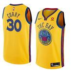 Maglia Golden State Warriors Stephen Curry Nike City Edition Replica