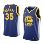 Maglia Golden State Warriors Kevin Durant Nike Icon Edition Replica