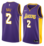 Maglia Los Angeles Lakers Lonzo Ball Nike Statement Edition Replica