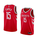 Maglia Houston Rockets Clint Capela Nike Icon Edition Replica