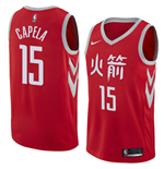 Maglia Houston Rockets Clint Capela Nike City Edition Replica