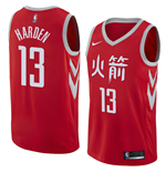 Maglia Houston Rockets James Harden Nike City Edition Replica