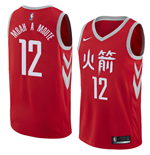 Maglia Houston Rockets Luc Mbah A Moute Nike City Edition Replica