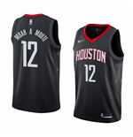 Maglia Houston Rockets Luc Mbah A Moute Nike Statement Edition Replica