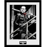 Walking Dead (The) - Negan Stairs (Stampa In Cornice 30x40cm)