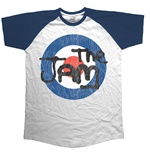 Jam (THE) - Raglan Target Logo Distressed (T-SHIRT Unisex )