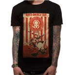Looney Tunes - Tour Poster (T-SHIRT Unisex )