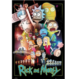 Rick And Morty - Wars (Poster Maxi 61x91,5 Cm)