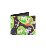Rick And Morty -  Characters Aop Bifold Multicolor (Portafoglio)