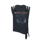 T-shirt Bon Jovi Slippery When Wet (acid WASH/CUT)