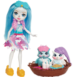 Mattel FCG78 - Enchantimals - Playset Pigiama Party Con Gufetti