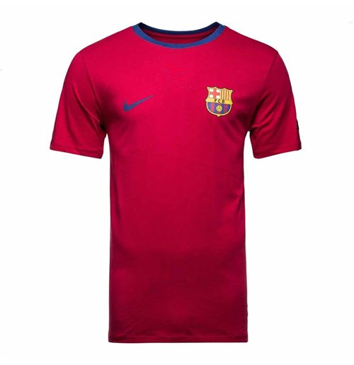 T-shirt Barcellona 2018-2019 (Rosso)