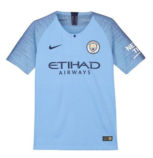 Maglia Home Manchester City Bambino