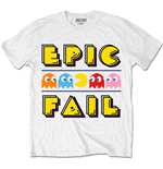 T-shirt Pac-Man da uomo - Design: Epic Fail