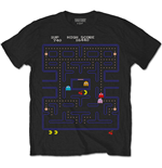T-shirt Pac-Man da uomo - Design: Game Screen
