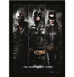 Dark Knight Rises - Three (Stampa In Cornice 30X40 Cm)