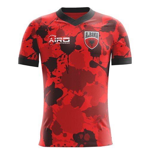 T-shirt Albania Calcio 2018-2019 Home