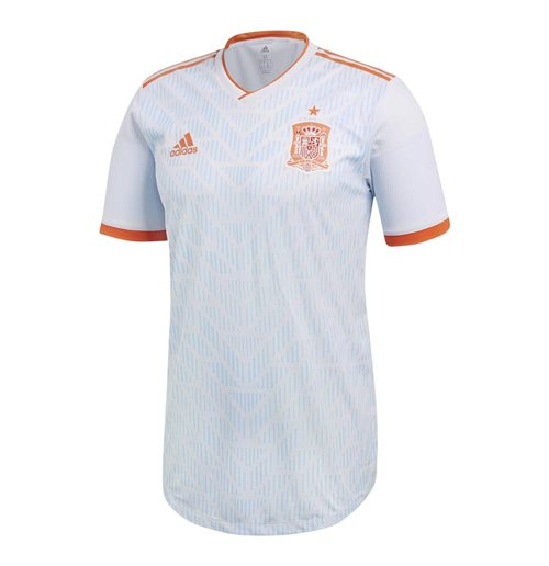 bdc6c7ece24b3a Acquista Maglia 2018/19 Spagna calcio 2018-2019 Away Adidas Authentic