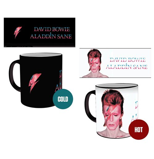 David Bowie - Aladdin Sane (Tazza Termosensibile)