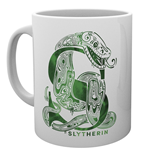 Harry Potter - Slytherin Monogram (Tazza)