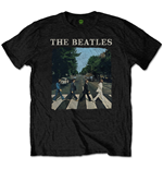 T-shirt The Beatles Abbey Road & Logo (Retail Pack)