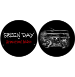 Slipmat Green Day - Design: Revolution Radio