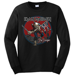 Felpa Iron Maiden da uomo - Design: Trooper Red Sky