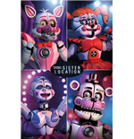 Five Nights At Freddy's - Sister Location Quad (Poster Maxi 61x91,5 Cm)