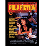 Pulp Fiction - Uma On Bed (Stampa In Cornice 30X40 Cm)