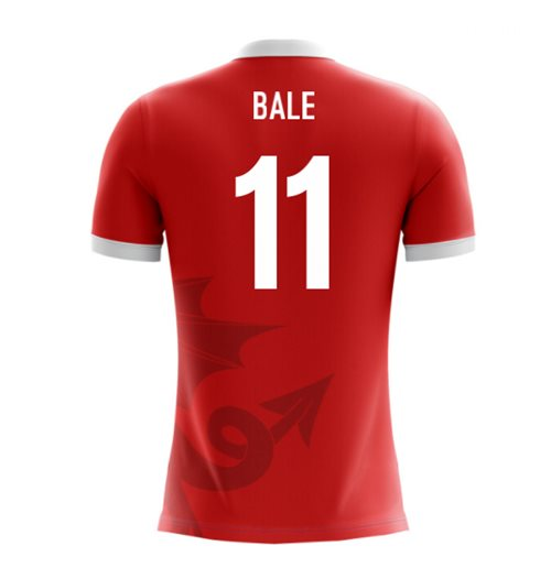 T-shirt Galles Calcio 2018-2019 Home