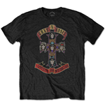 T-shirt Guns N' Roses da uomo - Design: Appetite for Destruction