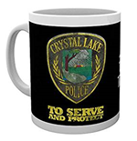 Friday The 13Th - Police Badge (Tazza)