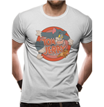 Tom And Jerry - Retro Logo (T-SHIRT Unisex )
