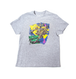 Teenage Mutant Ninja Turtles - Grey Never Cross A Ninja (T-Shirt Bambino Tg. )