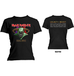 T-shirt Iron Maiden da donna - Design: Legacy of the Beast Tour