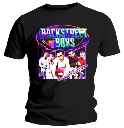 T-shirt Backstreet Boys Larger Than Life