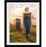 Doctor Who - 13Th Doctor (Stampa In Cornice 30x40cm)