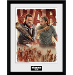 Walking Dead (The) - Season 8 Illustration (Stampa In Cornice 30x40cm)