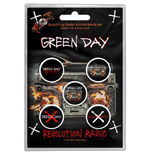 Spilla Green Day - Design: Revolution Radio
