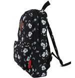 Mickey Mouse - All Over Printed Black  (Zaino)