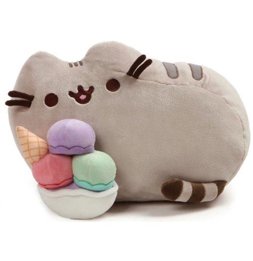 Acquista Pusheen - With Ice Cream Sundae - Peluche Originale