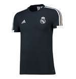T-shirt Real Madrid 2018-2019 (Grigio Scuro)