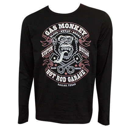 Felpa Gas Monkey Garage da uomo