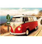 Vw Camper - Route One (Poster Maxi 61x91,5 Cm)