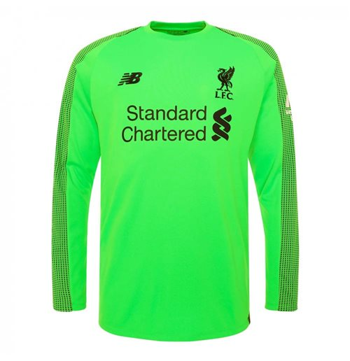 first rate best sneakers lowest price Maglia Portiere Manica Lunga Liverpool FC 2018-2019 Away da bambino