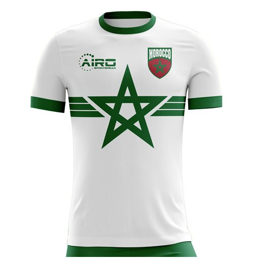 T-shirt Marocco calcio 2018-2019 Away