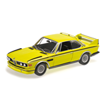 BMW 3.0 CSL E9 COUPE 1972 YELLOW WITH STRIPES