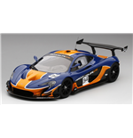 McLAREN P1 GTR GULF COLORS BLUE & ORANGE
